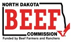 North Dakota Beef Commission Logo - Funded by Beef Farmers and Ranchers