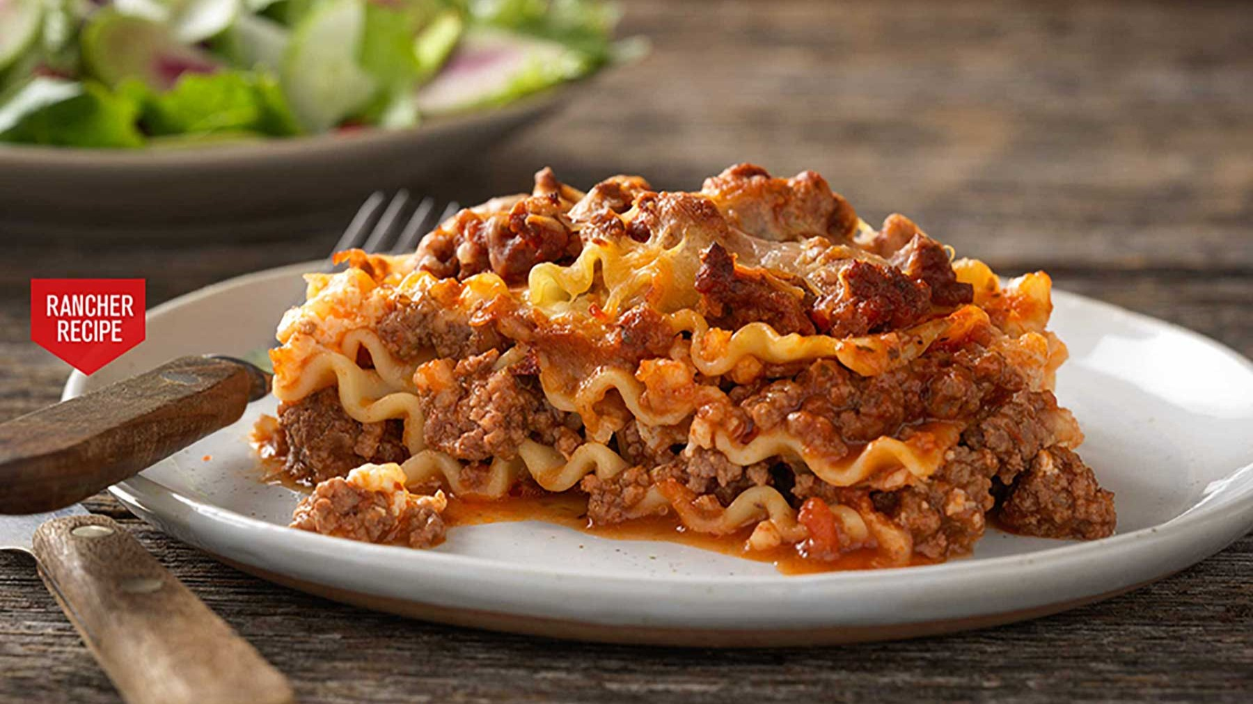 Rancher Recipe Farm-Ous Lasagna